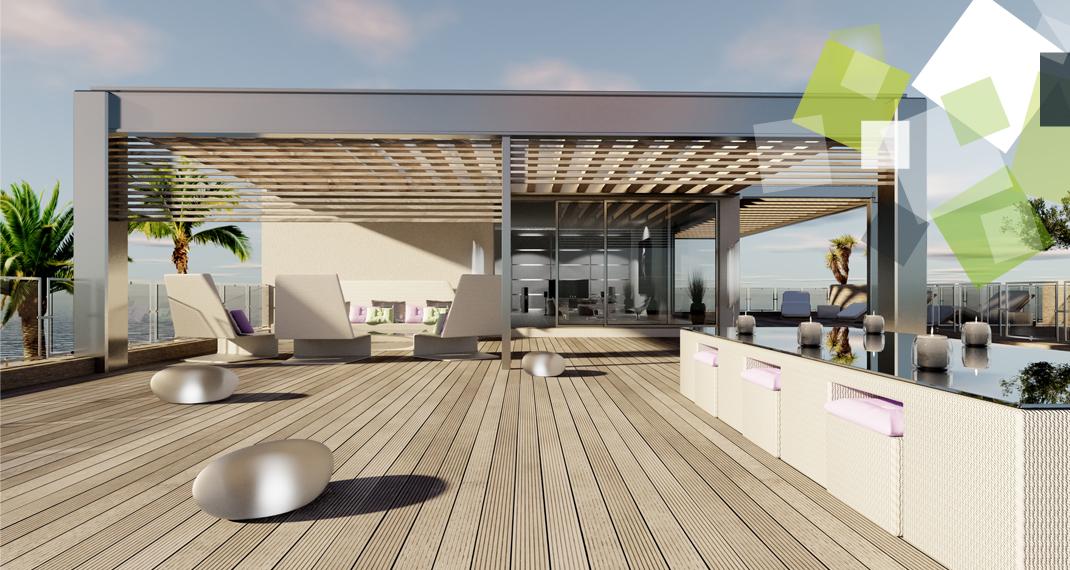 terrasse composite d stockage habitat. Black Bedroom Furniture Sets. Home Design Ideas
