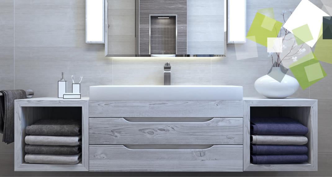 Destockage Meuble De Salle De Bains Armoire De Toilette Lave Mains