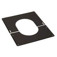 Plaque de finition 0-45° noir TEN