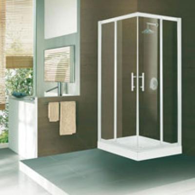 demi paroi pour acc s d 39 angle droit concerto r glable de 68 71 cm verre transparent. Black Bedroom Furniture Sets. Home Design Ideas