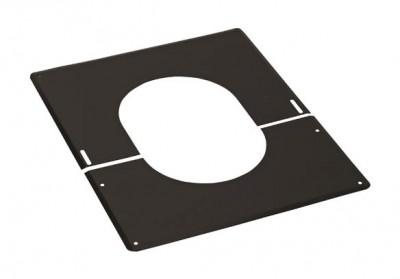 Plaque de finition 0 à 30° noire TEN