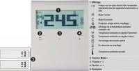 Thermostat d'ambiance sans programmation alimentation secteur SIEMENS