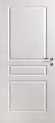 Bloc-porte alvéolaire postformé traverse droite VILLA prépeint 930 gauche poussant huisserie créaconfort 72x57cm RD pene dormant 1/2 tour
