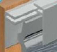 Profil Finition PVC 1021 Clipable Blanc 6000