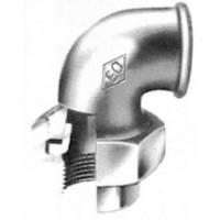 Coude-union fonte malléable 96 galvanisée femelle femelle 15x21mm ATUSA