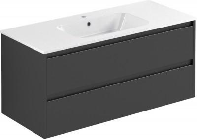 meuble all day 120cm gris mat sous vasque centr e rennes 35920 d stockage habitat. Black Bedroom Furniture Sets. Home Design Ideas