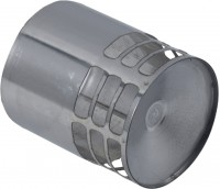 Terminal de protection inox diamètre 80 mâle TEN