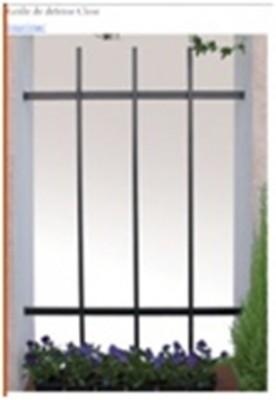 grille de d fense mod le close 750x400 bernis 30620. Black Bedroom Furniture Sets. Home Design Ideas