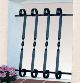 grille de d fense mod le volute 1200x750 bernis 30620. Black Bedroom Furniture Sets. Home Design Ideas