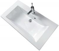 Plan de toilette SEDUCTA 2, 90 vasque centrée