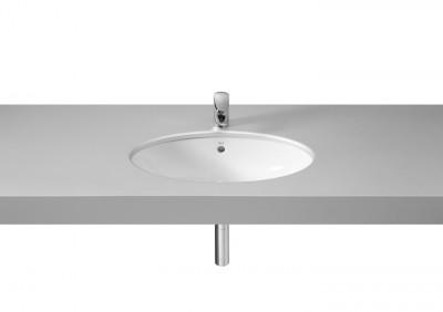 Vasque à encastrer BERNA 56x42cm blanc ROCA