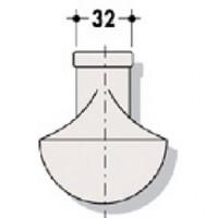 Queue de carpe pour EW tube de chasse NICOLL