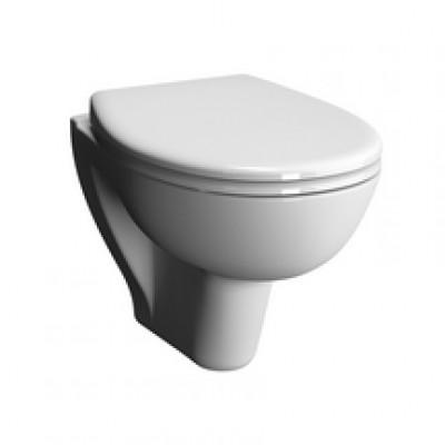 Pack wc suspendu VERSEAU courte sans bride avec abattant frein de chute