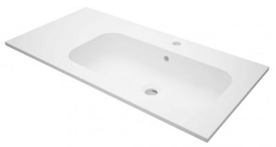 Plan de toilette SEDUCTA2 90cm vasque à droite
