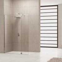 Paroi de douche profilé fixe plafond hauteur 250 blanc NOVELLINI