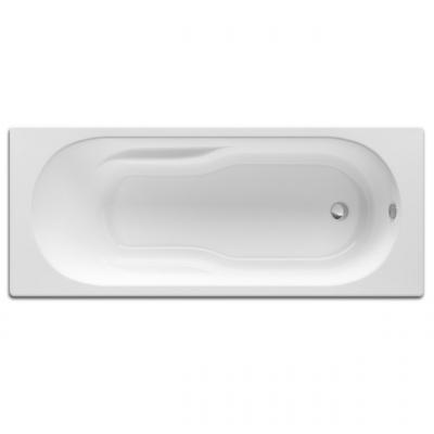baignoire rectangulaire 170cm genova avec dossier poign e blanc roca libourne 33500. Black Bedroom Furniture Sets. Home Design Ideas