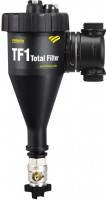 Filtre TF1 TOTAL F1 vannes avec raccords olives 28mm FERNOX