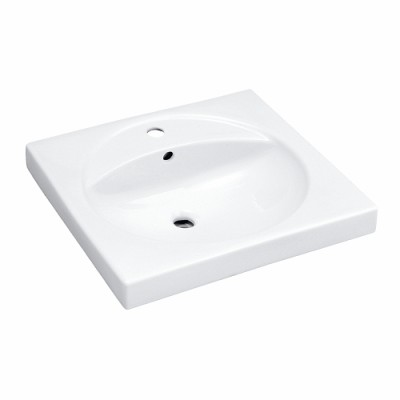 Plans de toilette PRECIOSA 60cm blanc ALLIA
