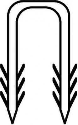 Crochet de fixation tube multicouche (200) OVENTROP