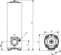 Chauffe-eau électrique 300 litres INITIO blindé stable monophasé ARISTON THERMO