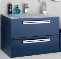 Sous-vasque SEDUCTA 60cm 2 tiroirs bleu