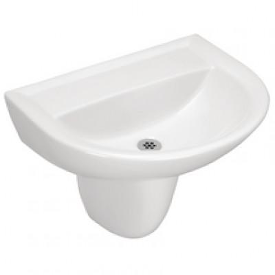 lavabo autoportant ulysse 2 60x47cm 2 trous blanc porcher. Black Bedroom Furniture Sets. Home Design Ideas