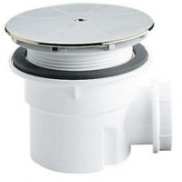 Bonde de douche siphoïde pour receveur grés 40x49 diamètre 90mm BASIC SEGMENT
