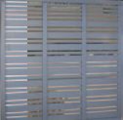 Panneau pare vue 1800X900 MALTE Gris UNIVERSO