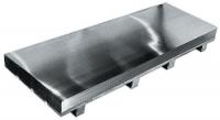 Zinc laminé feuille anthra zinc 0.65x1000x2000mm