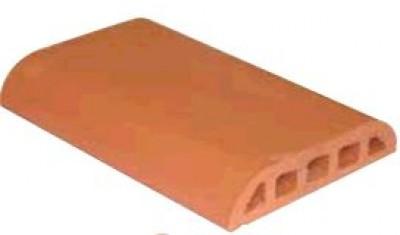 chaperon de mur rouge lisse plat les essarts 85140 d stockage habitat. Black Bedroom Furniture Sets. Home Design Ideas