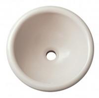 Vasque UZES rond diamètre 39 cm blanc ALLIA réf 00164700