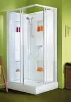 Cabine de douche IZIBOX 120 x 80 cm coulissantes Confort VGLEDA