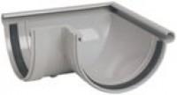 Gouttière 33 grise angle extérieur