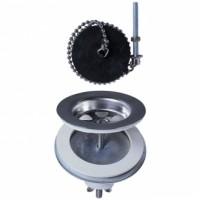 Bonde à plateau en laiton pour évier grès diamètre 60mm SP232C