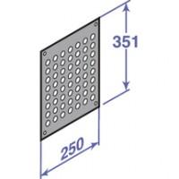 Grille aération externe 250x300mm DE DIETRICH
