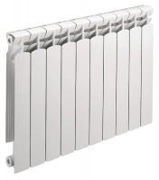 Radiateur décor en aluminium gamme ROYAL 50 - 8 éléments - 832W - 640x573mm - DECORAL