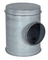 Caisson de piquage version CP2A galvanisé diamètre 125/200mm + joint ALDES