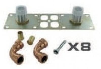 Colis 5 kit fixation COMAPLAK pour robinetterie COMAP