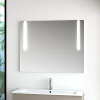 Miroir bords biseautés et sablés BASIC SEGMENT L500xh800mm réf B34M05050