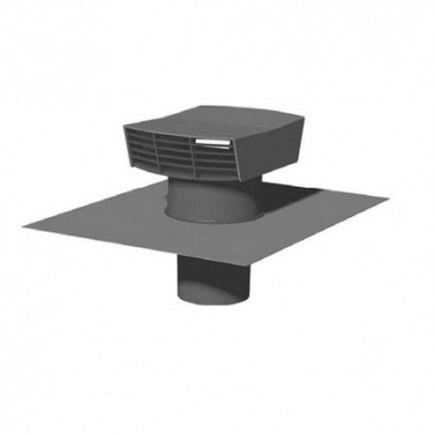 chapeau de to ture plastique rectangulaire diam tre 160mm ardoise unelvent prouvy rouvignies. Black Bedroom Furniture Sets. Home Design Ideas