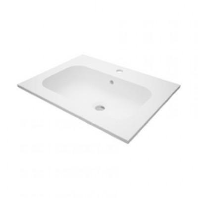 Plan de toilette SEDUCTA2 60cm en synthèse vasque centrée