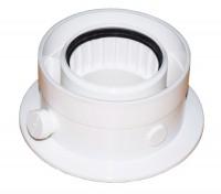 Adaptateur air/fumées 80x125 DE DIETRICH