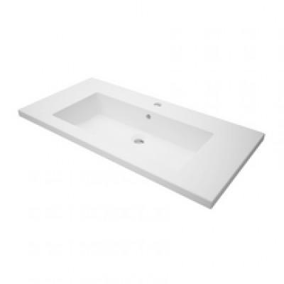 Plan de toilette WOODSTOCK2 90 cm  vasque centrée