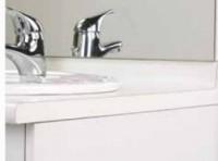 Plan de toilette 60cm 2 plis stratifié NEOVA