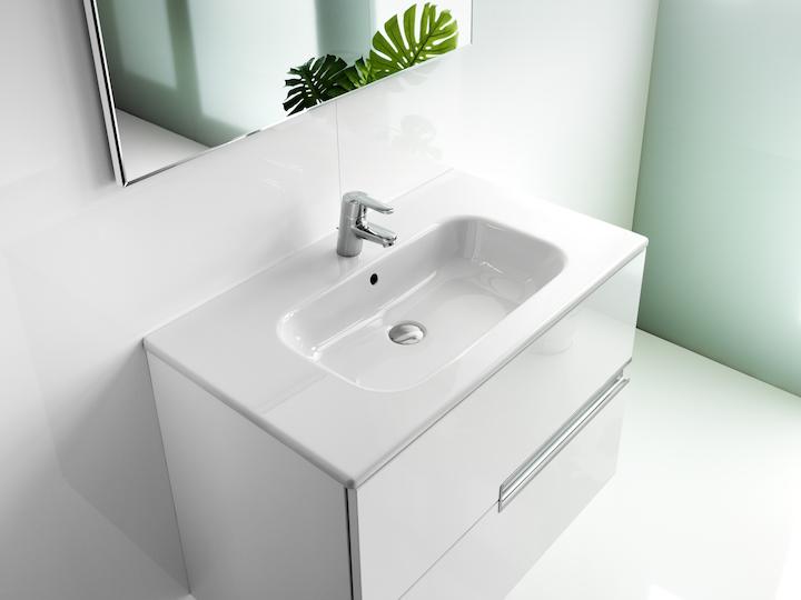 pack unik victoria n 120x46cm blanc brillant roca rennes 35920 d stockage habitat. Black Bedroom Furniture Sets. Home Design Ideas