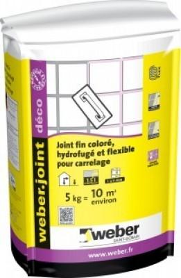 Joint DECO platine 5kg  WEBER
