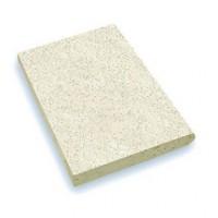 Margelle rustique droite plat 33x50mm ton pierre nuance