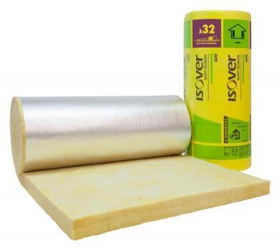 laine de verre kraft aluminus gr 32 roul 100 5 4x1 2m saint gobain isover la roche sur yon. Black Bedroom Furniture Sets. Home Design Ideas