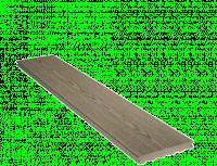 Lame terrasse ELEGANCE bois structurée gris iroise 23x138x4000mm SILVADEC