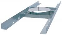 Support plancher galvanisé DP diamètre 153 ISOTIP-JONCOUX
